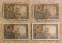 Lot Of 4 X French Banknotes. 4 X 10 Francs. Dated 1944-47. France.