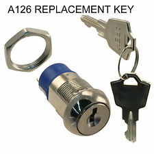 Key replacements A126 FIRE ALARM KAC ELEDIS KL SERIES IGNITION SWITCH BARREL CAL