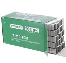 2 x Stanley Bostitch 71 series 14mm Galvanised Staples 10,000 pack 71 / 14 - 10m