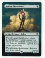 Solemn Simulacrum Altered Full Art MTG Magic Commander 2020 EDH Gift Birthday