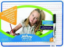 Hilroy Double Sided Dry Erase Lap Board, 12x9-Inch, White CH-34/2