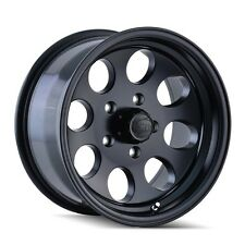 "(5) 17"" ION 171 Matte Black Wheels Rims 5x127 5x5 Jeep Wrangler JK Set of 5"