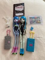 Monster High Roller Maze Frankie Stein Abbey Bominable Doll Lot