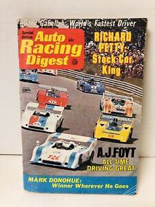 1973 Special Edition Auto Racing Digest  Donohue Richard Petty NASCAR AJ Foyt