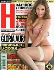 H PARA HOMBRES REVISTA MAGAZINE GLORIA AURA JULY 2013