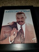 Alexander O'Neal All True Man Rare Original Promo Poster Ad Framed!