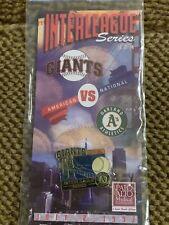 1997 San Francisco Giants vs Oakland A's Interleague Series Pin - July 2, 1997