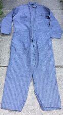 Vintage SEARS HBT Herringbone denim Overalls Coverall Jumpsuit . Size 46 R