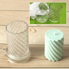 Spiral Shape 5*7.5/5*10.2cm Candle Mold Plastic DIY Craft Tools Wax Shaping Mold