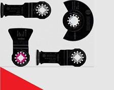 Bosch Boden- und Installationssets für Multifunktionswerkzeuge 4 tlg 2608661696