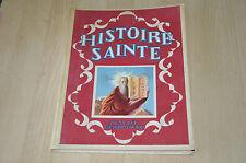 Livre Histoire Sainte d'après le cours des soeurs Vorselaar - ill E. Ivanovsky