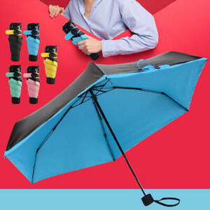 New Mini Sun Rain Pocket Umbrella Anti UV Folding Compact Windproof Lightweight