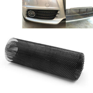 40''x13'' DIY Racing Grills Hexagonal Car Cuttable Front Bumper Honey Comb Mesh