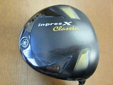 USED MENS YAMAHA INPRES X CLASSIC 11.5° DRIVER ORBIT TBX-412DIII REGULAR FLEX