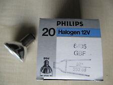 PHILIPS Aluline Halogen B15d 12V 20W 32º 6435/FR GBF Halogenlampe MATT !!!