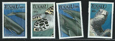 Tuvalu SC570-573 EndangeredMarineLife-GreenTurtle-SpermWhale etc. MNH 1991