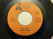 PROMO GOLDEN EARRING AS LONG AS THE WIND BLOWS/BACK HOME 45 DWARF RECORDS