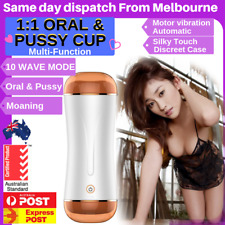 Pocket Pussy Sex Toy Male Masturbator Cup for Mens Vagina ORAL & PUSSY Fast Post