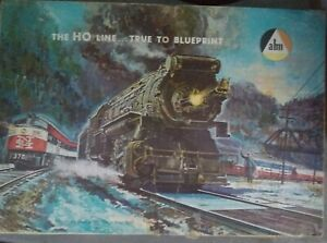 "Vintage The HO Line AHM True to Blueprint ""Dockside Switcher"" #69930 Train Set"