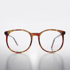 Large Round Secretary Preppy Schoolboy Clear Lens Eyeglasses - Small Smarty