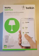 Belkin WeMo WiFi Switch Smart Plug F7C027 Compatible with Alexa