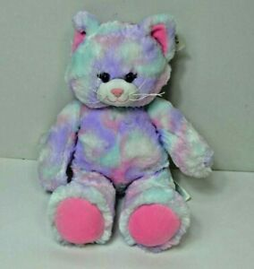 Build A Bear Workshop Pastel Swirl Kitty, cat, kitten New with tags (1009)
