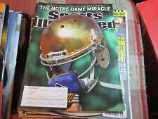 Sports Illustrated November 26 2012  Notre Dame