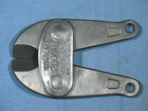 HK Porter Bolt Cutter Replacement Jaws TOOL No. 2590 NE 2590NE 2513NE NOS
