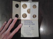 Centennial Confederate Memorial Coins ULTRA RARE Vintage 1963 Robert E. Lee War