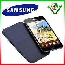 Funda Bolsa Piel SAMSUNG ORIGINAL para Galaxy Note 1 N7000 i9220 AZUL