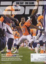 ESPN Magazine - Dec 9, 2013 - Knowshon Moreno Cover - Denver Broncos - NFL -