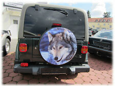 "WOLF WHEEL COVER 28"" 4x4 for Toyota Suzuki Mitsubishi Hyundai Opel Nissan Honda"