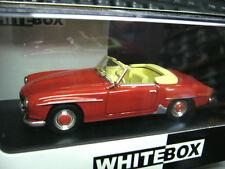MERCEDES BENZ 190SL190 SL Roadster Cabrio rot red 1957 W121 B IXO S-preis 1:43