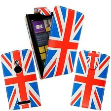 CASE FOR NOKIA LUMIA N925 UNION JACK PRINT PU LEATHER MAGNETIC FLIP COVER