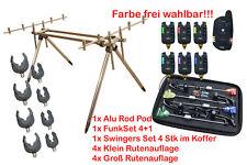 Rod Pod für 3 Angelrute mit Bissanzeiger + Pendelbissanzeiger Multicolor Angebot