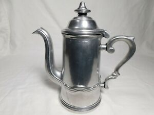 Wilton Armetale Country French Coffee Pot, Polished Finish Columbia PA