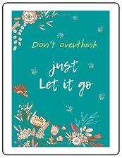 Let It Go Password Book Large Print Keeper Website Log Journal Organizer