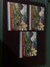 3 Vintage 1983 1984 GI Joe Action Figure Booklets