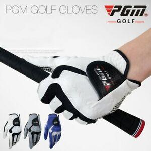 PGM Golf Glove Men Golf Microfiber Cloth Anti-skid Granules Left-handed Single
