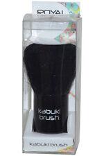 Brochas, pinceles, aplicadores de maquillaje kabukis negro