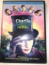 Charlie and the Chocolate Factory (DVD, 2005) Full Screen Bilingual