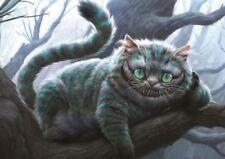 Gato de Cheshire Alicia en el país de las maravillas A3 Poster Print HAL749
