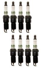 Set Of 8 Spark Plugs Pre-Gapped .040 AcDelco For Buick Caddy Chevy GMC Saab V8