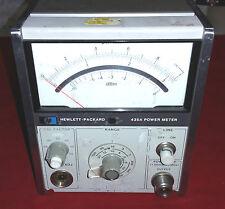 HP 435A Power Meter No probe/head module Powers Up.....