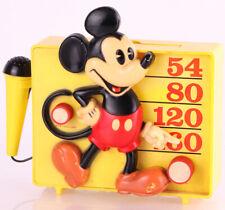 Micky Maus / Mickey Mouse Kinder Radio mit Mikrofon 1960's 60er Vintage