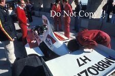 Jacques Laffite Williams FW04 F1 Season 1975 Photograph 1