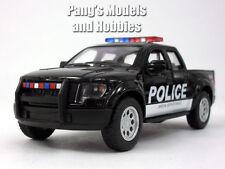 Ford F-150 SVT Raptor Police 1/46 Scale Diecast Model by Kinsmart - BLACK