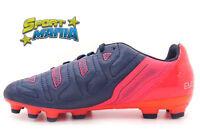 Puma Evopower 4.2 AG Bambino Blu Scarpe Shoes Calcio 103230 01