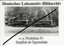 Tegernseebahn Dampflok 5 und 6 nach 1924 (8838)
