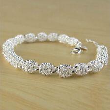 1 Stk. Damen 925 Silber Sterling Armreif Armband Hochzeit Schmuck Geschenke GUT